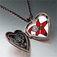 Necklace & Pendants - snow angel santa heart locket pendant necklace Image.
