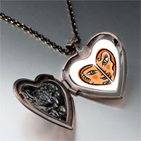 Necklace & Pendants - smiling sexy heart heart locket pendant necklace Image.
