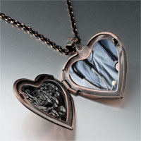 Necklace & Pendants - heart stethoscope heart locket pendant necklace Image.