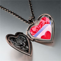 Necklace & Pendants - pink love box heart locket pendant necklace Image.
