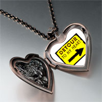 Necklace & Pendants - detour heart heart locket pendant necklace Image.
