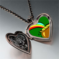 Necklace & Pendants - pot gold heart locket pendant necklace Image.