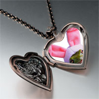 Necklace & Pendants - easter bunny frog heart locket pendant necklace Image.