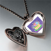 Necklace & Pendants - easter egg basket heart locket pendant necklace Image.