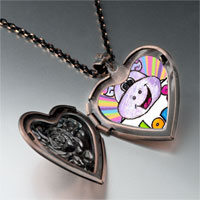 Necklace & Pendants - hope hippo by amber heart locket pendant necklace Image.