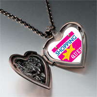 Necklace & Pendants - shopping queen heart locket pendant necklace Image.