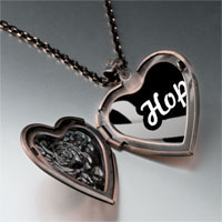 Necklace & Pendants - hope ribbon by amber heart locket pendant necklace Image.
