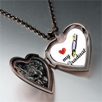 Necklace & Pendants - heart graduate heart locket pendant necklace Image.
