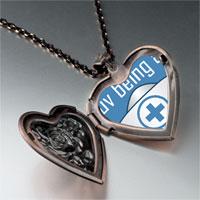 Necklace & Pendants - love being a nurse heart locket pendant necklace Image.