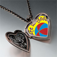 Necklace & Pendants - enjoying life heart locket pendant necklace Image.