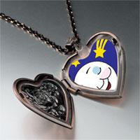 Necklace & Pendants - sleep tight moon star heart locket pendant necklace Image.