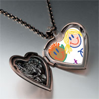 Necklace & Pendants - best pals heart locket pendant necklace Image.