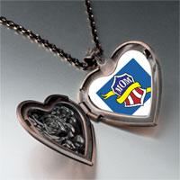 Necklace & Pendants - mom yellow ribbon heart locket pendant necklace Image.