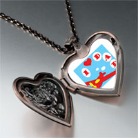 Necklace & Pendants - i love dad heart locket pendant necklace Image.