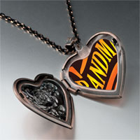 Necklace & Pendants - golden grandma heart heart locket pendant necklace Image.