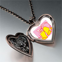 Necklace & Pendants - christmas heart locket pendants wedding bells yellow heart locket pendant necklace Image.