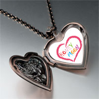 Necklace & Pendants - honeymoon heart heart locket pendant necklace Image.