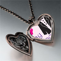 Necklace & Pendants - heart groom heart locket pendant necklace Image.