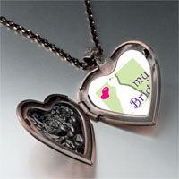 Necklace & Pendants - heart bride heart locket pendant necklace Image.