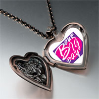 Necklace & Pendants - our big day heart photo heart locket pendant necklace Image.