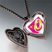Necklace & Pendants - wedding ring golden heart locket pendant necklace Image.