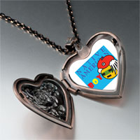 Necklace & Pendants - boy heart locket pendant necklace Image.