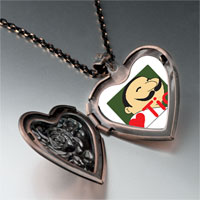 Necklace & Pendants - tio heart person heart locket pendant necklace Image.