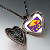 Necklace & Pendants - tia heart hat heart locket pendant necklace Image.