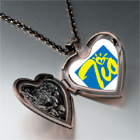Necklace & Pendants - cursive heart tio heart locket pendant necklace Image.