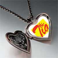 Necklace & Pendants - cursive heart tia heart locket pendant necklace Image.