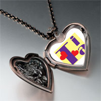 Necklace & Pendants - tia hearts heart locket pendant necklace Image.