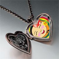 Necklace & Pendants - happy tia heart locket pendant necklace Image.