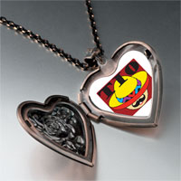 Necklace & Pendants - tio hat heart locket pendant necklace Image.