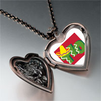 Necklace & Pendants - tio cactus desert heart locket pendant necklace Image.