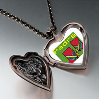 Necklace & Pendants - padre colorful boots heart locket pendant necklace Image.