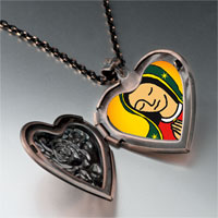 Necklace & Pendants - our lady guadalupe heart locket pendant necklace Image.