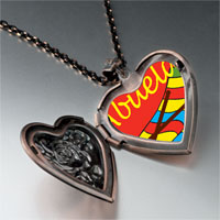 Necklace & Pendants - abuela sewing work heart locket pendant necklace Image.