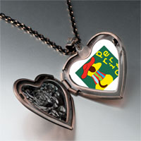 Necklace & Pendants - little cute stylish dog perrito heart locket pendant necklace Image.