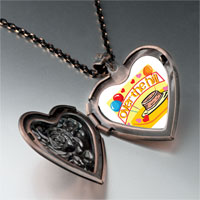 Necklace & Pendants - hill birthday heart locket pendant necklace Image.