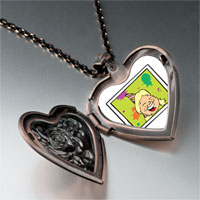 Necklace & Pendants - happy birthday girl heart locket pendant necklace Image.
