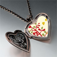 Necklace & Pendants - autumn fall tree heart locket pendant necklace Image.