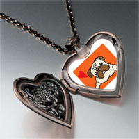 Necklace & Pendants - dog heart locket pendant necklace Image.