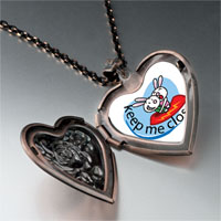 Necklace & Pendants - keep close heart locket pendant necklace Image.