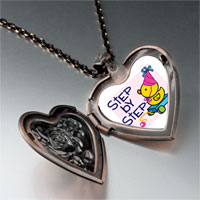 Necklace & Pendants - step by baby heart locket pendant necklace Image.