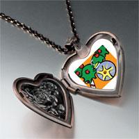 Necklace & Pendants - christmas ornament photo heart locket pendant necklace Image.