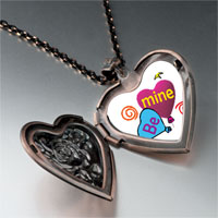 Necklace & Pendants - be heart balloons photo heart locket pendant necklace Image.