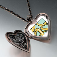 Necklace & Pendants - golden ring photo storybook heart locket pendant necklace Image.
