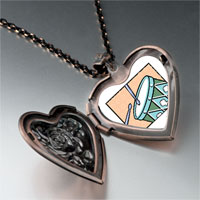 Necklace & Pendants - twelve drumming drummers photo storybook heart locket pendant necklace Image.