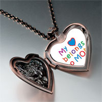Necklace & Pendants - mother' s day theme photo heart rose heart locket pendant belongs for women necklace Image.