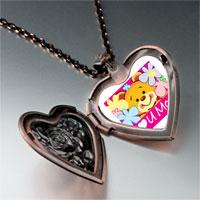 Necklace & Pendants - cartoon theme photo heart rose heart locket pendant i love for women necklace Image.